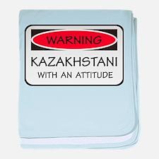 Attitude Kazakhstani baby blanket