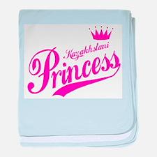 Kazakhstani Princess baby blanket