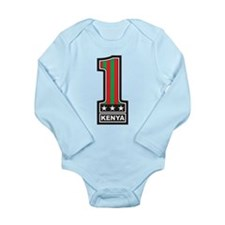#1 Kenya Long Sleeve Infant Bodysuit