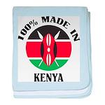 Made In Kenya baby blanket