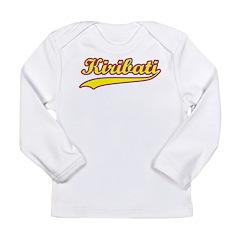 Retro Kiribati Long Sleeve Infant T-Shirt