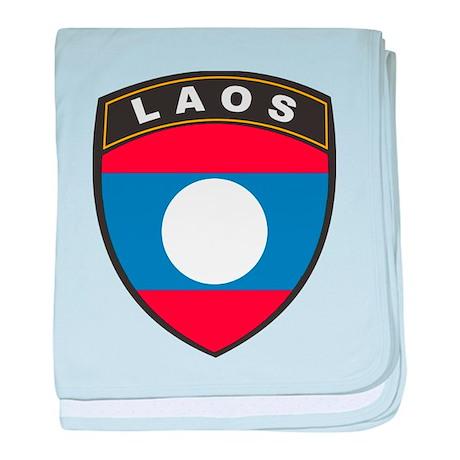 Laos baby blanket