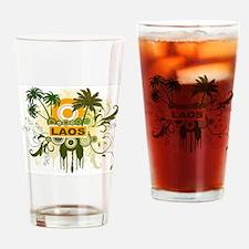 Palm Tree Laos Pint Glass