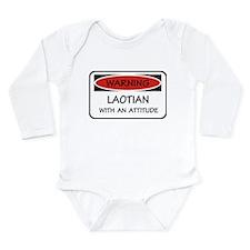 Attitude Laotian Long Sleeve Infant Bodysuit