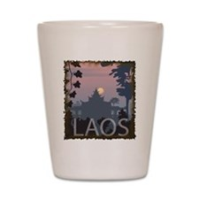 Vintage Laos Shot Glass