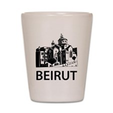 Beirut Shot Glass