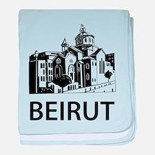 Beirut baby blanket