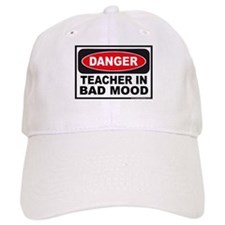 Danger Teacher in Bad Mood Baseball Cap