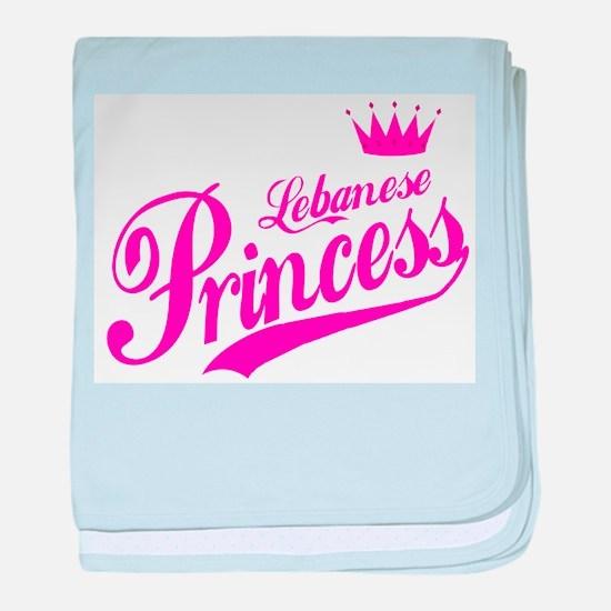 Lebanese Princess baby blanket