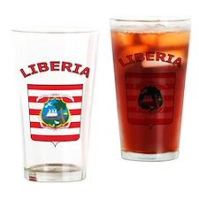 Liberia Pint Glass