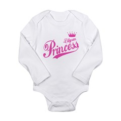 Libyan Princess Long Sleeve Infant Bodysuit