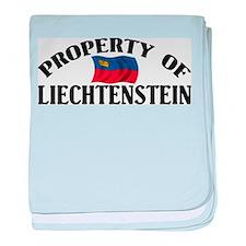 Property Of Liechtenstein baby blanket