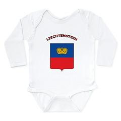 Liechtenstein Long Sleeve Infant Bodysuit