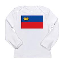 Liechtenstein Flag Long Sleeve Infant T-Shirt
