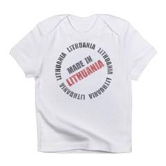 Made In Lithuania Infant T-Shirt