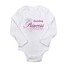 Princess Luxembourg Long Sleeve Infant Bodysuit