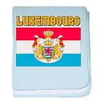 Luxembourg Flag baby blanket