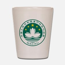 Macau Coat Of Arms Shot Glass