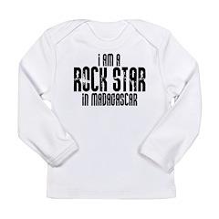Rock Star In Madagascar Long Sleeve Infant T-Shirt