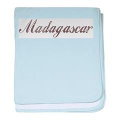 Vintage Madagascar baby blanket