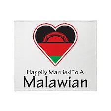Happily Married Malawian Throw Blanket