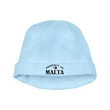 Property Of Malta baby hat