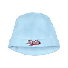 Retro Malta baby hat