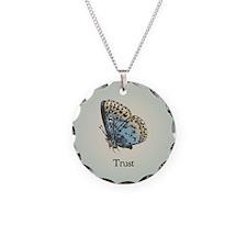 Trust Circle Pendant Necklace