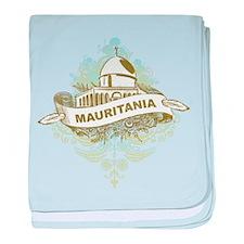 Mosque Mauritania baby blanket