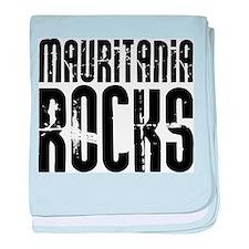 Mauritania Rocks baby blanket