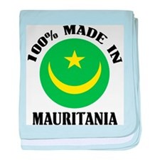 Made In Mauritania baby blanket