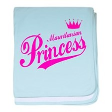 Mauritanian Princess baby blanket
