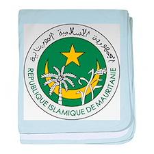 Mauritania Coat Of Arms baby blanket