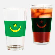 Mauritania Flag Pint Glass