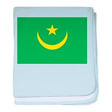 Mauritania Flag baby blanket