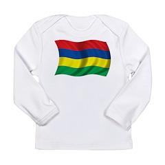 Wavy Mauritius Long Sleeve Infant T-Shirt