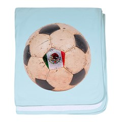 Mexico World Cup baby blanket