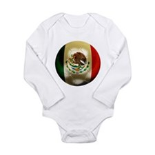 Mexico World Cup Long Sleeve Infant Bodysuit