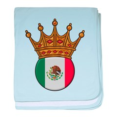 King Of Mexico baby blanket