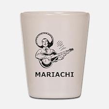 Vintage Mariachi Shot Glass