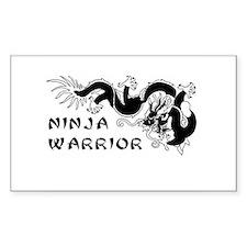 Ninja Warrior Vinyl Decal