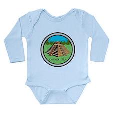 Chichen Itza Long Sleeve Infant Bodysuit