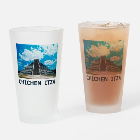 Chichen Itza Pint Glass