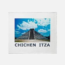 Chichen Itza Throw Blanket