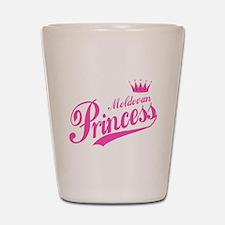 Moldovan Princess Shot Glass