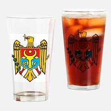 Moldova Coat Of Arms Pint Glass