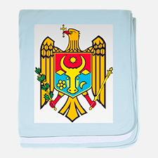 Moldova Coat Of Arms baby blanket