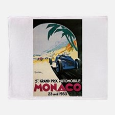 Cute Grand prix Throw Blanket