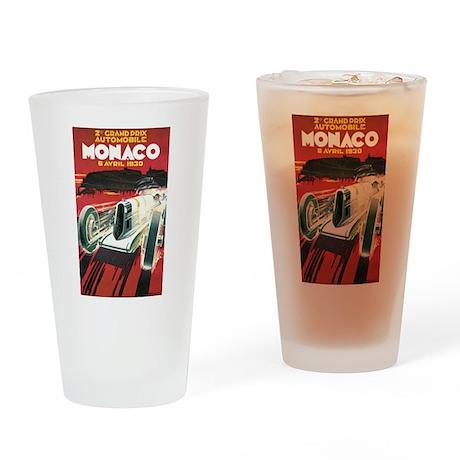 Monaco Grand Prix 1930 Pint Glass