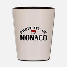 Property Of Monaco Shot Glass
